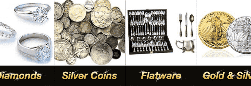 """Why don't we buy plated silver? The answer is simple. There is long term value in genuine silver, and not in plated items. The reason is this: the layers of silver on plated items over time will wear off after use and cleaning, exposing the metal underneath and eventually becoming unusable. Genuine silver keeps its use and luster forever if cleaned when needed. How do I know if I have real or plated silver? If you see the words """"Sterling"""" or the numbers """"925"""" on U.S. silver, you have the real thing! If you see """"International Silver"""", """"Community Plate"""", """"E.P."""", or """"E.P.N.S"""" it is a plated item. Same thing goes for """"extra plate"""" , """"triple-plate"""" , or """"quadruple-plate"""" it all means plated silver. For foreign silver, research would have to be done to determine its authenticity and silver content. When selling your silver, the more you have, the better we pay as a percentage! Forms of Silver Silver Dollar A.K.A American Eagle what-we-buy_silver-eagle_300x300This is the most up to date .999 fine silver dollar. Orlando Estate Buyer pays anywhere from $27-$100 for Silver Eagles, the most desirable form of silver bullion in the U.S. Silver Flatware what-we-buy_sterling-silver-flatware_300x300We buy silver flatware everyday! Full sets can be thousands of dollars, with the average place setting being up to $100! U.S. flatware has the stamp """"Sterling"""" on its pieces. If you see the word """"Silver"""" on your flatware, it may still be plated. Brands such as Rogers Silver and International Silver are commonly mistaken for real silver because the word silver is in the name. U.S. flatware will be stamped """"sterling"""" if it is real. Non U.S. silver has different markings depending on where it is from. Silver Bullion what-we-buy_silver-bullion_300x300Ingots are the most recognizable form of silver bullion with equal value globally. Sell ingots and other silver bullion for up to 95% of silver's spot price. Heavy Silver Bullion what-we-buy_silver-bullion_300x300100 ounce silver bars look like """